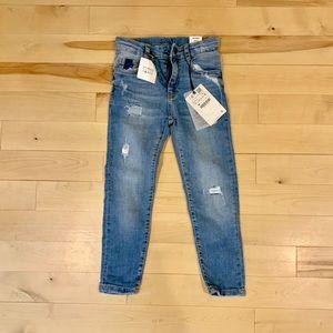 BRAND NEW Zara Distressed Skinny Jeans